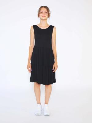 siyah bol elbise22